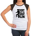 Shufflin Women's Cap Sleeve T-Shirt