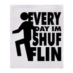 Shufflin Throw Blanket