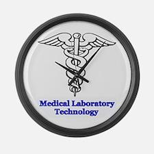 Medical Laboratory Technology Large Wall Clock