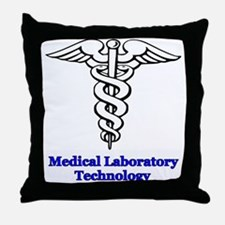 Medical Laboratory Technology Throw Pillow