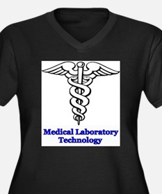 Medical Laboratory Technology Women's Plus Size V-