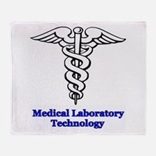 Medical Laboratory Technology Throw Blanket