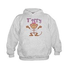 Little Monkey Terry Hoodie