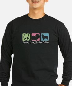 Peace, Love, Border Collies T
