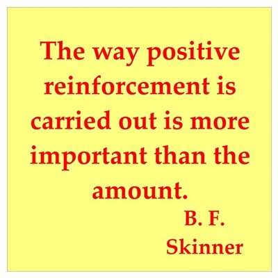 b f skinner quotes Framed Print