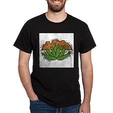 Cactus2011 Black T-Shirt