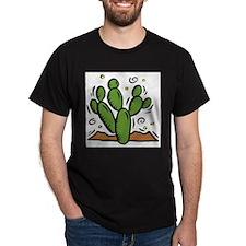 Cactus2010 Black T-Shirt