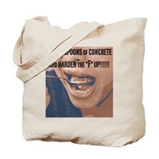 2 Spoons Image Face Tote Bag