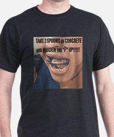 2 Spoons Image Face T-Shirt