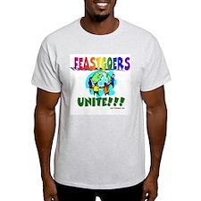 Feastgoers Unite! Ash Grey T-Shirt