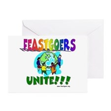 Feastgoers Unite! Greeting Cards (Pk of 10)