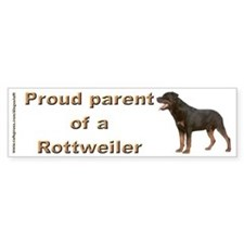 """""""Rottweiler"""" Bumper Bumper Sticker"""