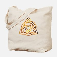 Celtic Holy Trinity Flames Tote Bag