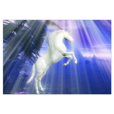 Mystical Unicorn Canvas Art