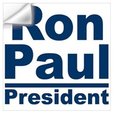 Ron Paul for President Wall Decal