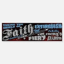 Shield of Faith Sticker (Bumper)