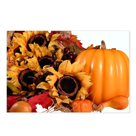 Autum Harvest Postcards (Package of 8)