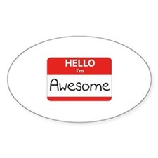 Hello, I'm Awesome Decal