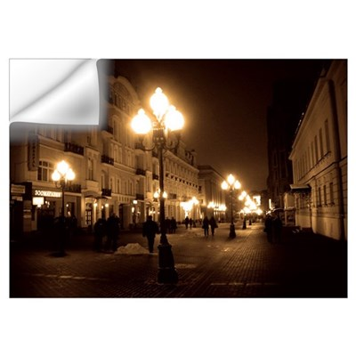 Old Arbat Street Framed Picture Wall Decal