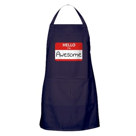 Hello, I'm Awesome Apron (dark)