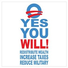 Anti Barack Obama Poster