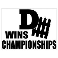 Defence Wins Championships Poster