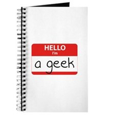 Hello, I'm a Geek Journal