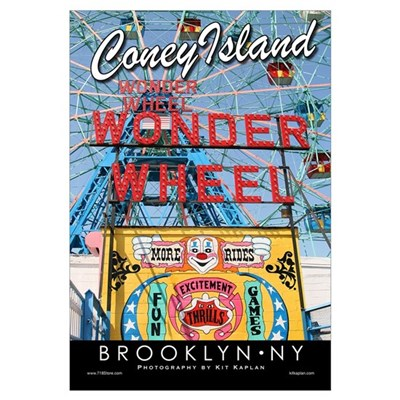 Coney Island Brooklyn Canvas Art