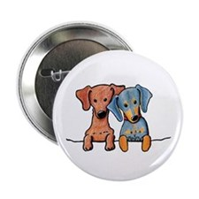 "Pocket Doxie Duo 2.25"" Button (10 pack)"
