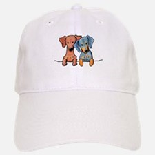Pocket Doxie Duo Baseball Baseball Cap