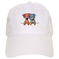 Pocket Doxie Duo Baseball Cap