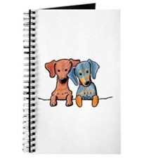 Pocket Doxie Duo Journal