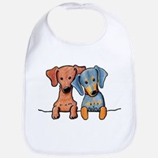 Pocket Doxie Duo Bib