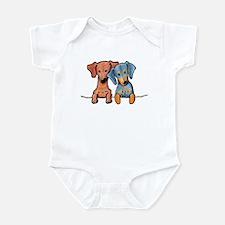 Pocket Doxie Duo Infant Bodysuit