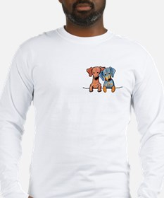 Pocket Doxie Duo Long Sleeve T-Shirt