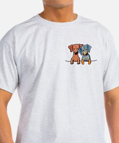 Pocket Doxie Duo T-Shirt