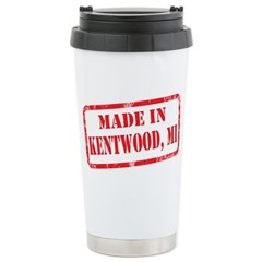 MADE IN KENTWOOD, MI Travel Mug