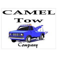 Camel Tow Poster
