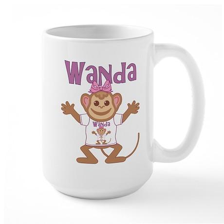 Little Monkey Wanda Large Mug