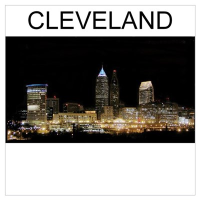 cleveland gifts and t-shirts Poster