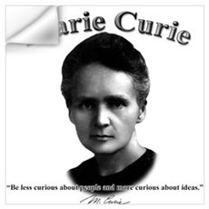 Marie Curie 01 Wall Decal
