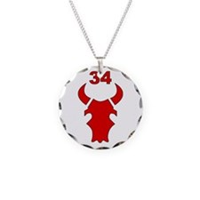 34th Infantry Division (3) Necklace