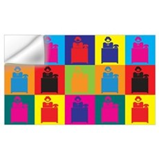 Administrative Assisting Pop Art Small Framed Prin Wall Decal