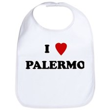 I Love Palermo Bib