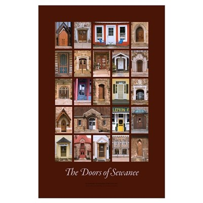 Sewanee Doors 23x35 Poster