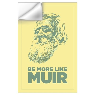 23x35 John Muir Wall Decal