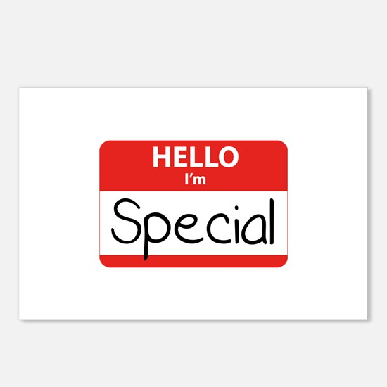 Hello, I'm Special Postcards (Package of 8)
