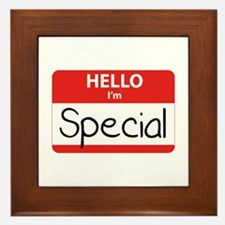 Hello, I'm Special Framed Tile
