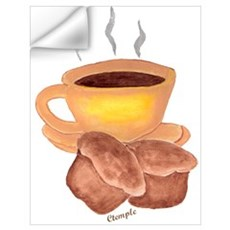 COFFEE AND MUFFINS Wall Decal