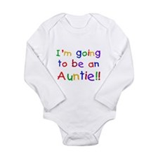 Going to be an Auntie Long Sleeve Infant Bodysuit